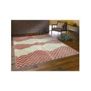 【76%OFF】い草ラグ WATSUMUGI レッド 176x220 インテリア・家具 > 敷物~~ラグ