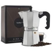 Ibric pentru cafea Espresso Italiana VonShef 1000202, 9 Cupe, Cafea Moka