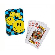 Mozlly Mini Smile Face Playing Cards 12 Decks Sport Gaming Set - Sports Theme - Set of 12 - Item #102002
