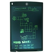 Altruist MultiPurpose LCD e-Writing Board, also Inkless Drawing/Memo Pads or Paperless Noting/Planning Boards (12-inch, Black)