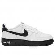 Nike Air Force 1 CV7663101 universal toute l'année chaussures pour enfants blanc/noir 6 Kid UK / 6.5 US / 39 EUR / 24.5 cm