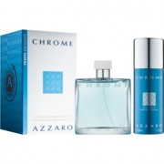 Azzaro Chrome lote de regalo ІХ eau de toilette 100 ml + desodorante en spray 150 ml