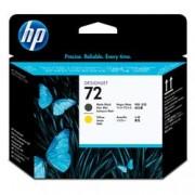 ORIGINAL HP Testina per stampa giallo/nero opaco C9384A 72