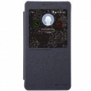 Husa Book Nillkin Sparkle pentru Samsung Galaxy Note 4 Negru