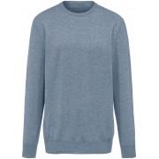 Peter Hahn Rundhalsad tröja i 100% kashmir, modell Ralph från Peter Hahn Cashmere blå