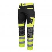 Pantaloni reflectorizanti slim-fit, cusaturi triple, 8 buzunare, gaici pentru curea, marime M