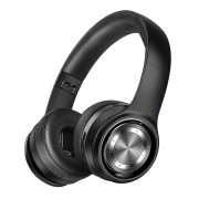 PICUN P26 Folding Over-ear Bluetooth V4.1 Headset Support AUX-in/TF Card - Black