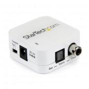 StarTech 2-weg Coax naar Toslink Audioconverter/Repeater