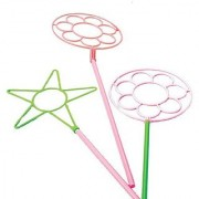 US Toy - Giant Neon Bubble Wands Pk of 12 Assorted Colors 24 L.