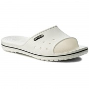 Чехли CROCS - Crocband II Slide 204108 White/Black