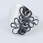 Inel din Argint 925 decorat cu model floral
