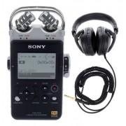 Sony PCM-D100 Headphone Bundle
