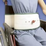 Biomatrix Cintura di Contenzione Toracica Carrozzina con Supporto Lombare e Chiusura Magnetica
