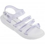 Zapato Tipo Plataforma de Mujer Melissa Flox + Vitorino Campos Ii Ad - Blanco