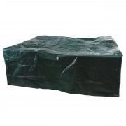 Abdeckhaube Schutzplane Hülle Regenschutz für Garnituren, 260x260x90cm ~ Variantenangebot