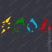 T-shirt Pokémon Elements