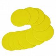 10 discos de lijado de 75 mm. con velcro. grano 400
