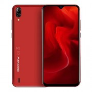 LIANTIAN VFTR Cámaras traseras duales, 4080mAh batería, 6.1 Pulgadas Android 8.1 GO MTK6580A Quad Core hasta 1.3GHz, Red: 3G, Dual SIM (Color : Red)