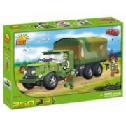 Set de construit camion militar ZIS-6 250 piese - Cobi
