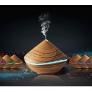 Hidegpárásító készülék, Kis piramis famintázatú diffúzor 500 ml-es