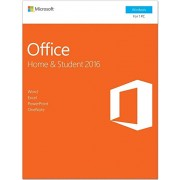 MICROSOFT OFFICE HOME & STUDENT 2016 - OFFICIAL WEBSITE - MULTILANGUAGE - WORLDWIDE - PC