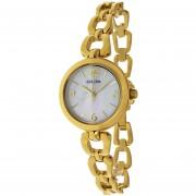 Reloj Bulova 97l138 Para Mujer-Dorado