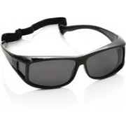 Polaroid Spectacle Sunglasses(Grey)