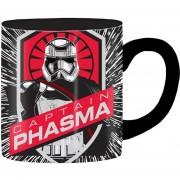 Taza Ceramica Star Wars Captain Phasma First Order Capitan