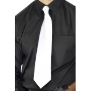 1920's White Gangster Tie