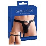 Svenjoyment Metal Clasp G String Underwear Black 2110571
