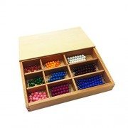 Generic Plastic Beads Number Counting Maths Educational Toy