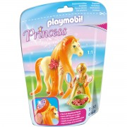 Jucarie PLAYMOBIL Princess Sunny with Horse