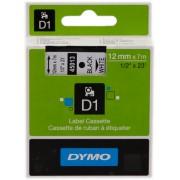 Dymo 45013 Cinta mecanográfico negro sobre blanco Original S0720530