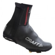 Craft Siberian Bike Bootie Unisex Black/Bright Red 1901626