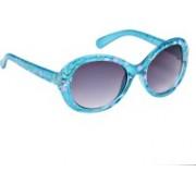 Ted Smith Cat-eye Sunglasses(Grey)
