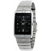 Titan Karishma Analog Black Dial Men's Watch - NH9151SM02