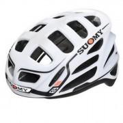 SUOMY Casco Bicicletta Gunwind Bianco-Nero L
