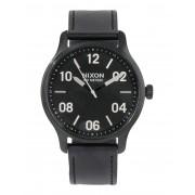 ユニセックス NIXON Patrol Leather 腕時計 ブラック