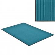[en.casa] Lábtörlő szőnyeg - csúszásgátlóval / előszoba szőnyeg - 150x90cm (türkiz)