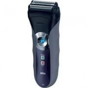 Aparat de barbierit Braun 320S-4, Acumulator, 3 capete, Trimmer, Negru