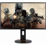 Monitor Gaming LED 27 Acer XF270HU Full HD IPS 4ms 144Hz Bonus Bonus Tricou Acer Predator