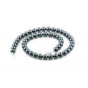 Colier Perle Negre Caviar Naturale de Cultura