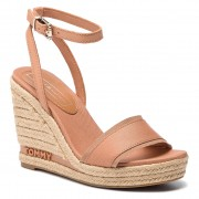 Еспадрили TOMMY HILFIGER - Iconic Elena Tommy Pastel FW0FW04074 Silky Nude 297