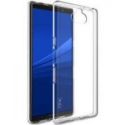 IMAK UX-5 Series Sony Xperia 10 Plus Hoesje Flexibel TPU Transparant