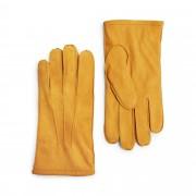 Handskmakaren Tirreni handskar i mocka, herr, Gul, 10
