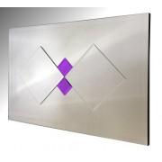 Memphis Purple Diamonds Mirror
