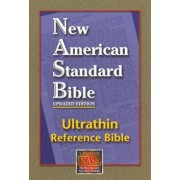 Ultrathin Reference Bible-NASB, Hardcover/Lockman Foundation