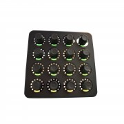 DJ TECHTOOLS - Midi Fighter Twister Black