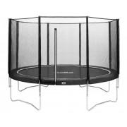 Salta Combo trampoline met veiligheidsnet ⌀244 cm - grijs