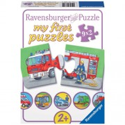 PUZZLE VEHICULE MOTORIZATE, 9x2 PIESE